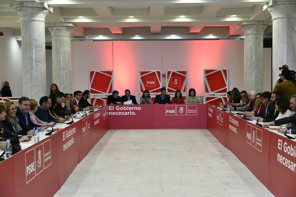 Termina sin acuerdo la reunión en el PSOE para cerrar las listas electorales de Aragón