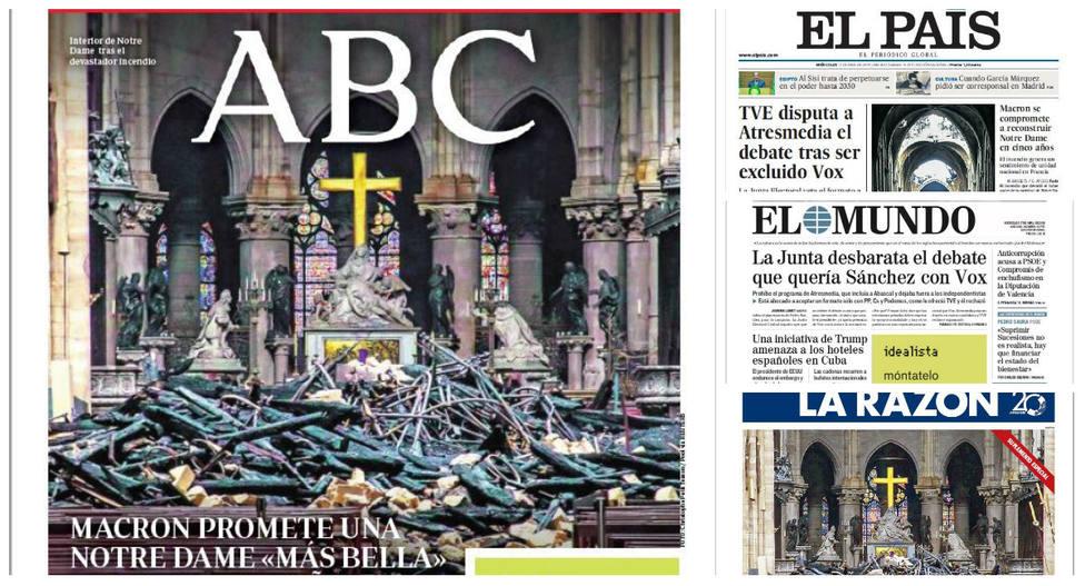 Notre Dame y la decisión de la JEC, portadas en la prensa este miércoles