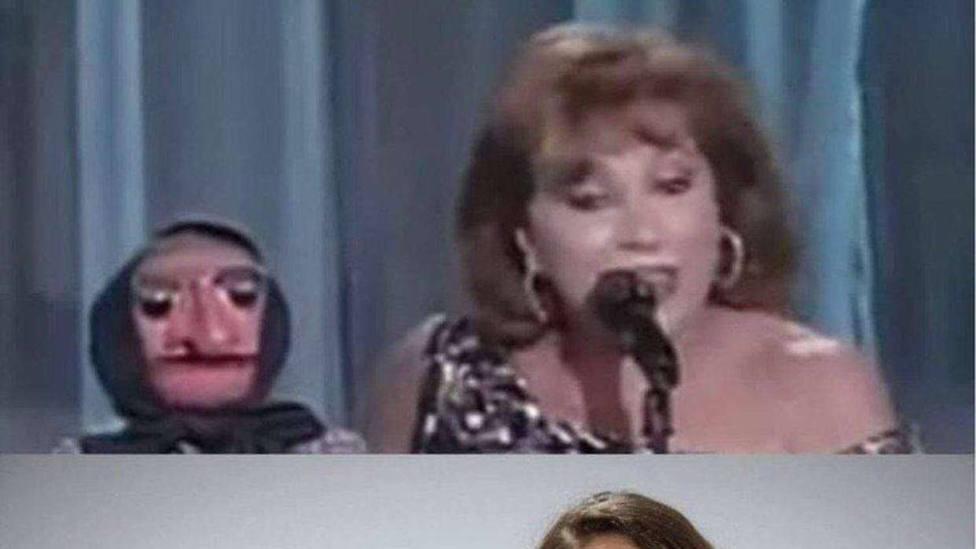 Iglesias comparte una foto en el que se compara a Echenique con Doña Rogelia