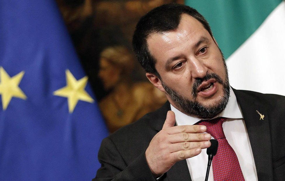 """Salvini reclama más """"control y atención"""" a la comunidad musulmana tras un apuñalamiento en Roma"""