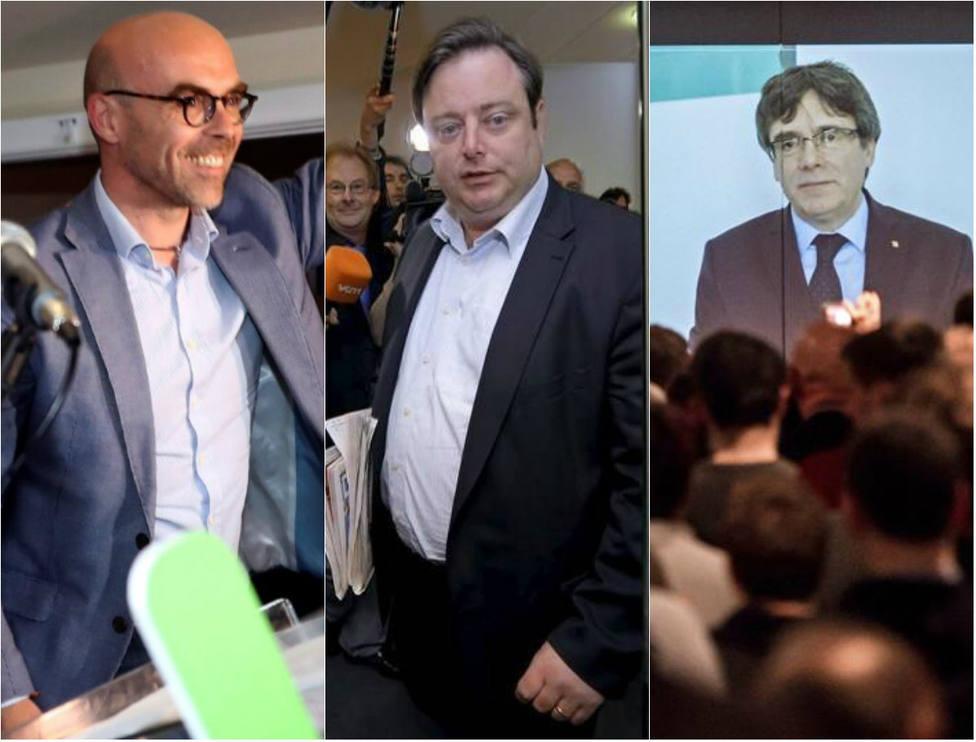 Vox compartirá grupo europarlamentario con el partido flamenco que recibió a Puigdemont en Bruselas