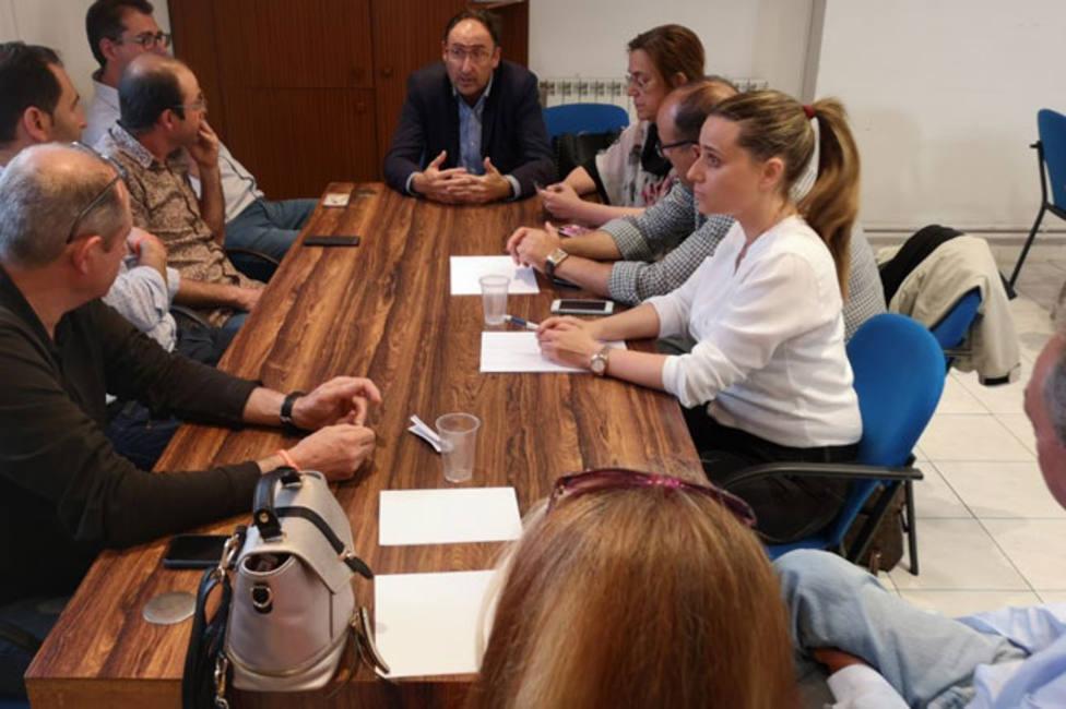 Polanco presenta a Simón su propuesta para llegar a un acuerdo de legislatura