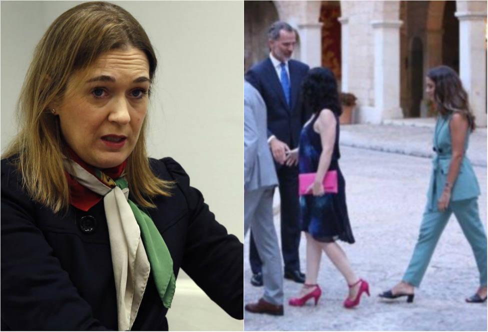 El corte de una diputada de Ciudadanos a la vicepresidenta balear por acusar a la Casa Real de sexista