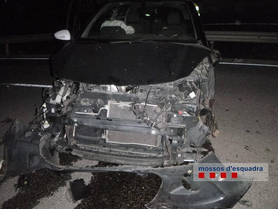 Diez fallecidos en las carreteras españolas este fin de semana en diez accidentes