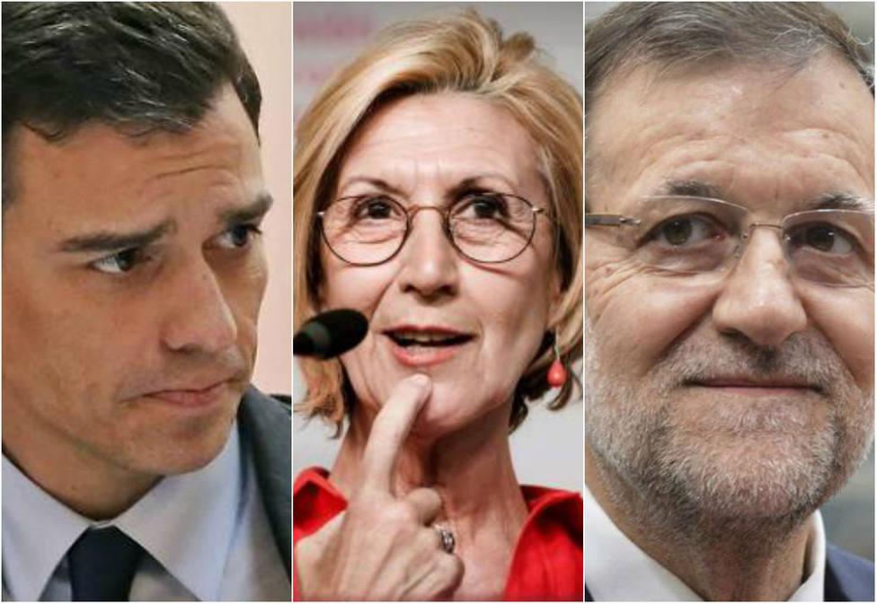 Rosa Díez tira de hemeroteca para recordar a Sánchez que está haciendo lo mismo que tanto criticó de Rajoy