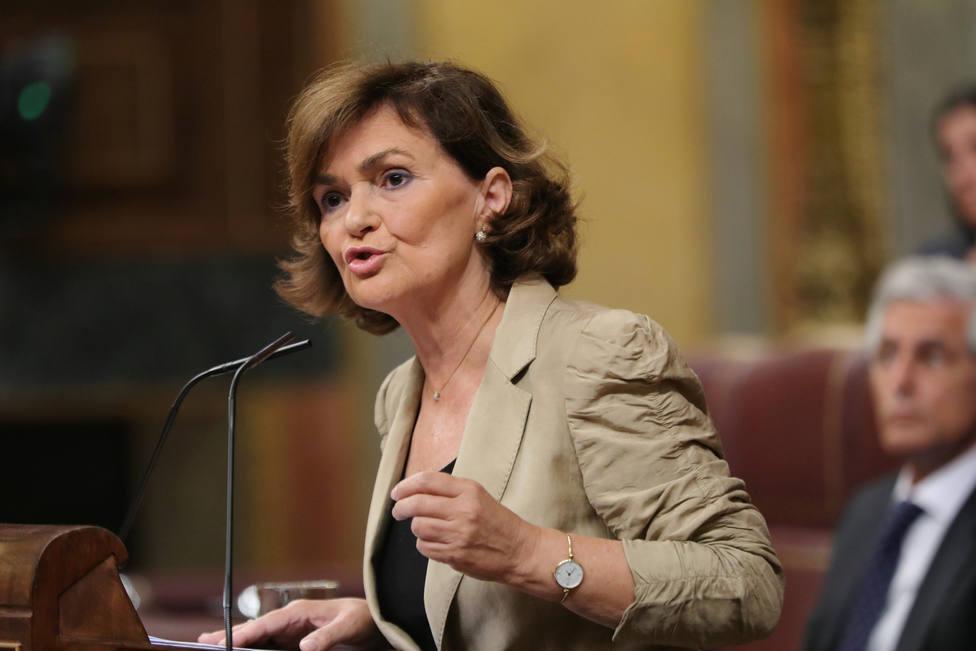 Calvo acusa a Podemos de mantener una postura inflexible porque sólo les interesa un cogobierno