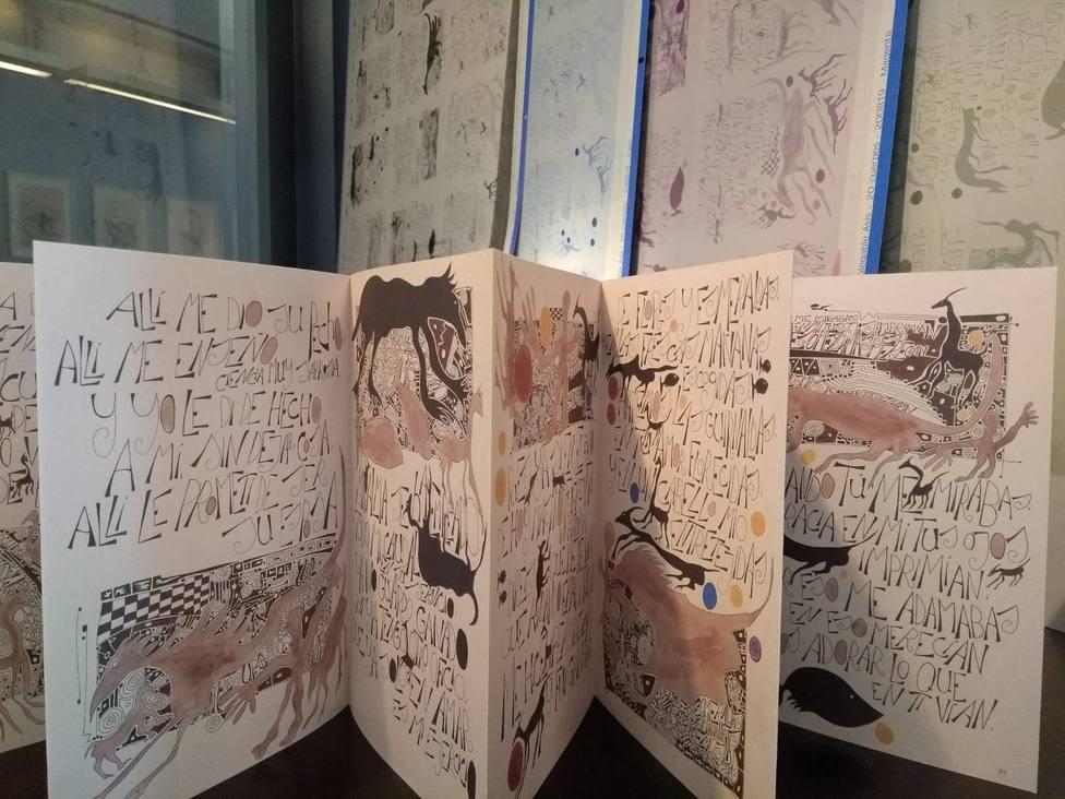 Exposición del Instituto de la Lengua.