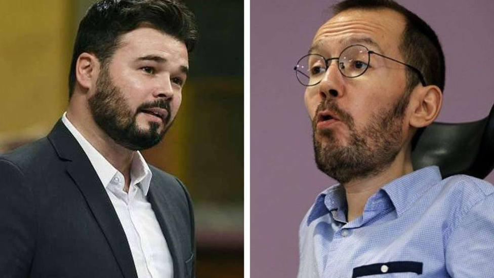El diputado de Podemos ha arremetido contra un programa de la cadena en la noche en la que entrevistaban al po