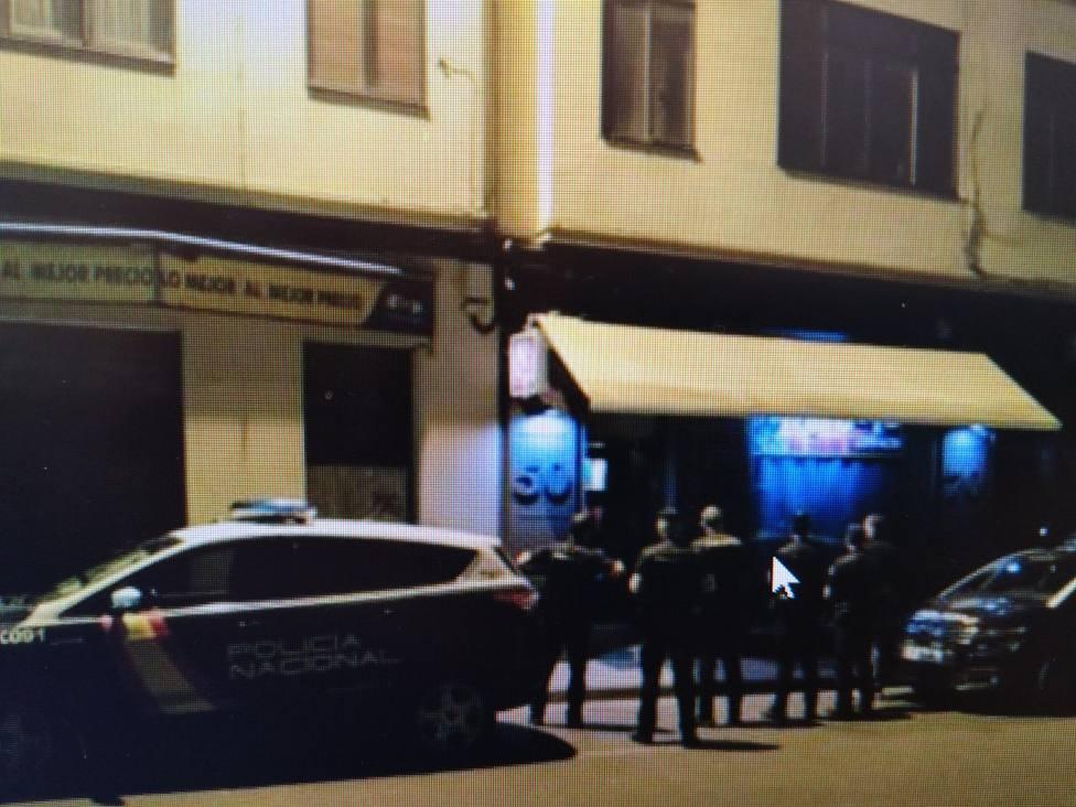 Efectivos de la Policía Nacional en Lugo