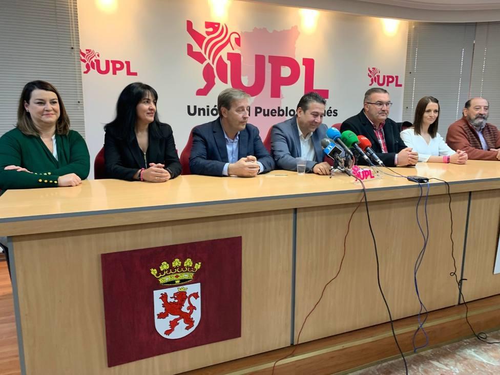 UPL candidatos.