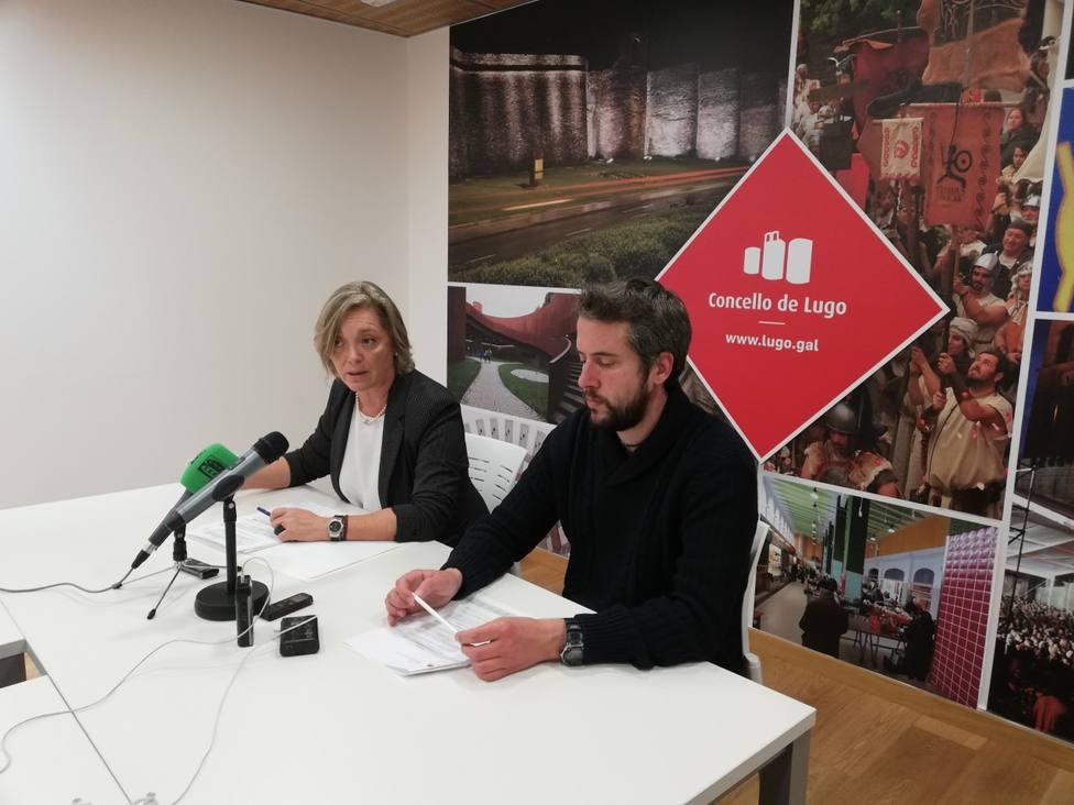 Lugo gastará más de un millón de euros para repintar toda la señalización de la ciudad