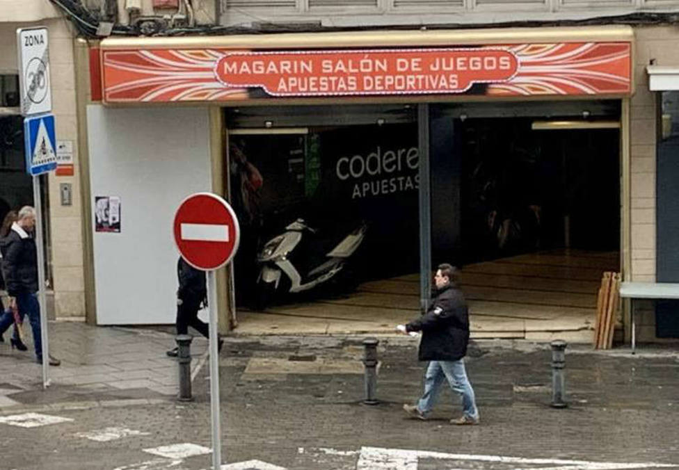 Local de apuestas en el centro de Alicante / COPE