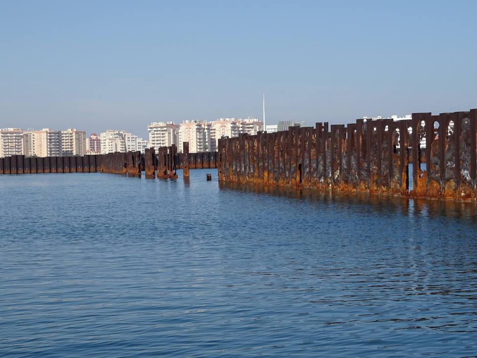 ANSE urge a la restauración de Puerto Mayor y la Caleta del Estacio en La Manga