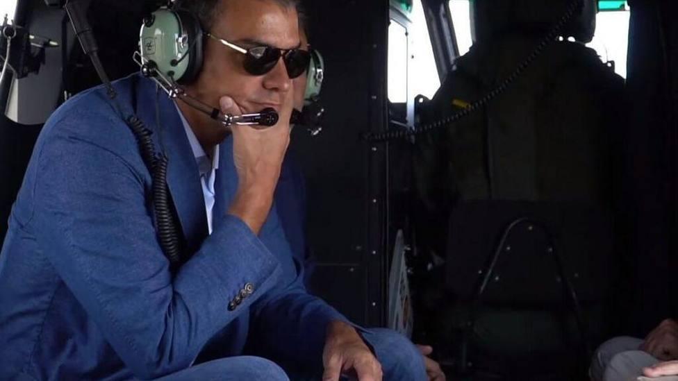 Del Falcon al Cuco: Sánchez paralizó el helicóptero de rescate del barranquista de Mallorca para usarlo él
