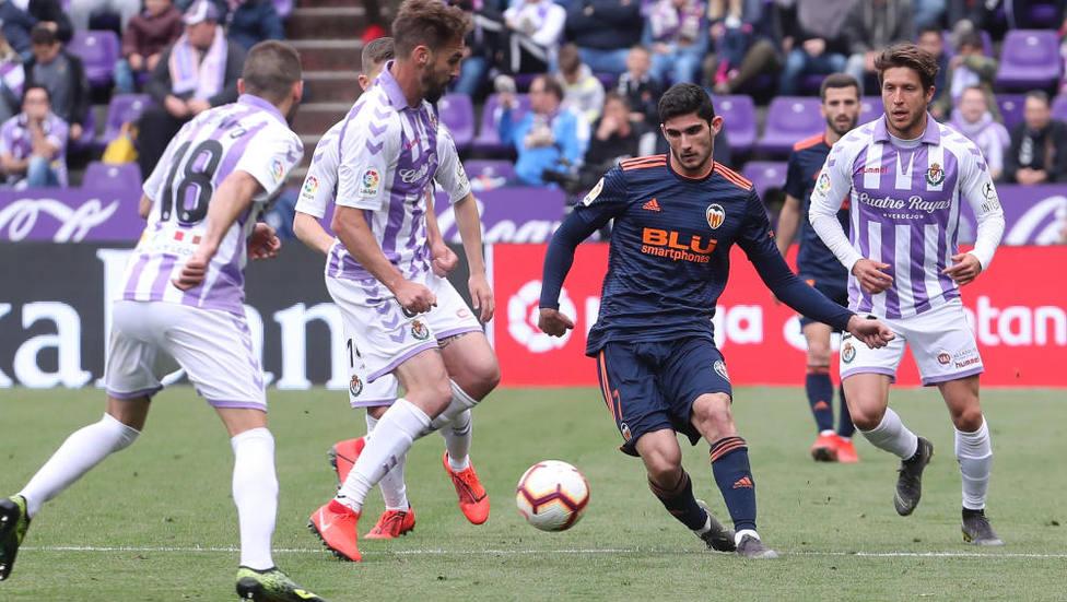 En Zorrilla se culminó la remontada del Valencia CF