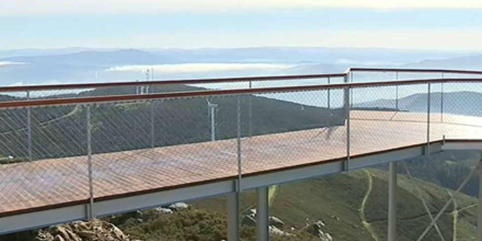 Inaugurado el mejor mirador de Galicia: se ve desde Vigo hasta Santiago