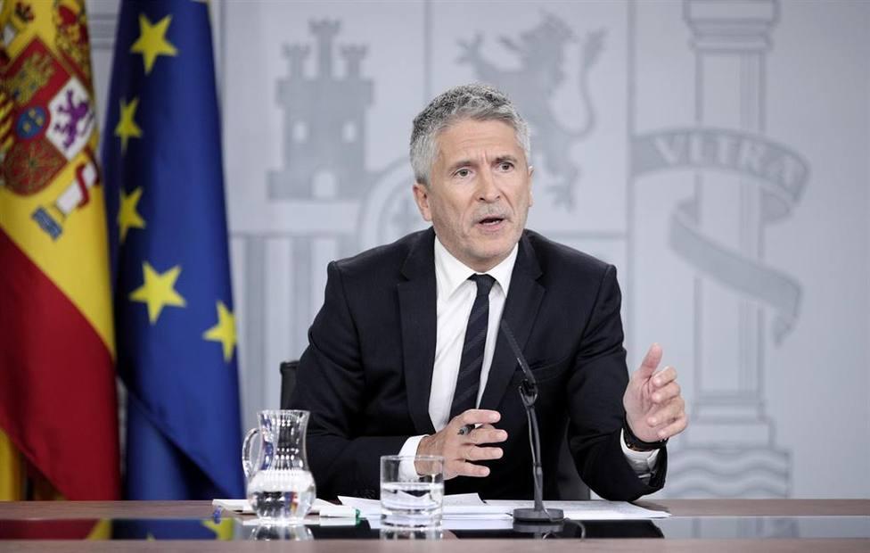 Marlaska confía en levantar algunas medidas del confinamiento a partir del 12 de abril