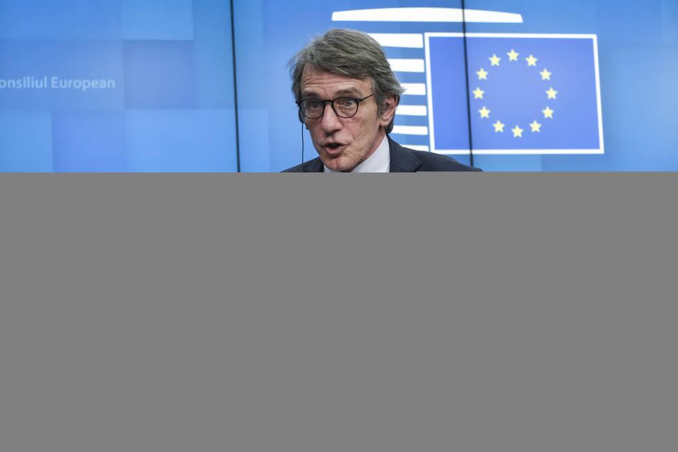 El presidente de la Eurocámara expresa su solidaridad con España: No dejaremos a nadie atrás