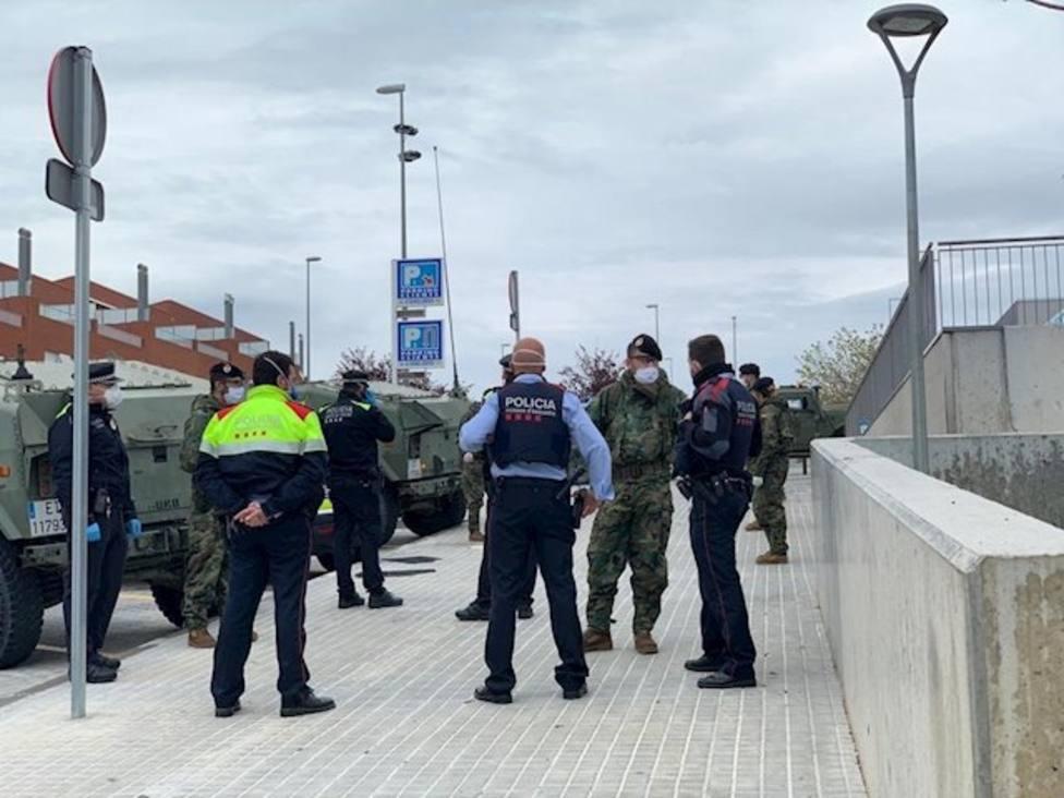 El Ejército llega a Sabadell