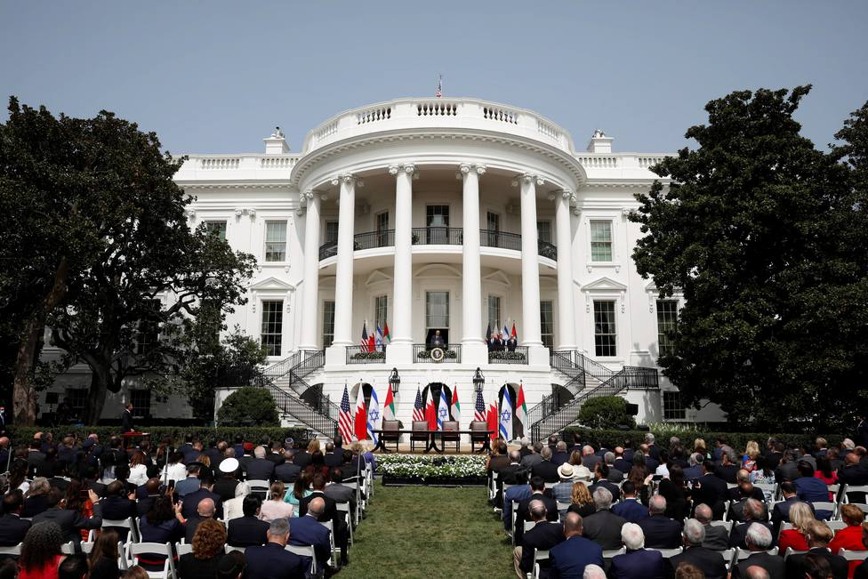 Abraham Accords Signing Ceremony in Washington