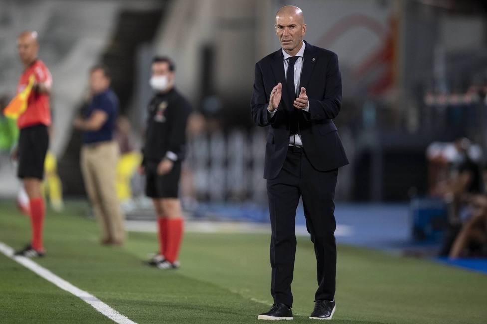 Spanish La Liga soccer mach Real Madrid vs Villarreal