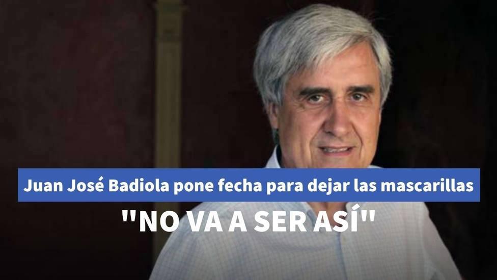 Juan José Badiola pone fecha en 'Liarla Pardo' para dejar de utilizar las mascarillas en España