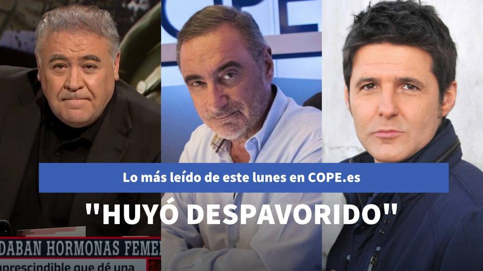 La crítica de Herrera a Ábalos tras el pacto del PSOE con Bildu, entre lo más leído de este lunes