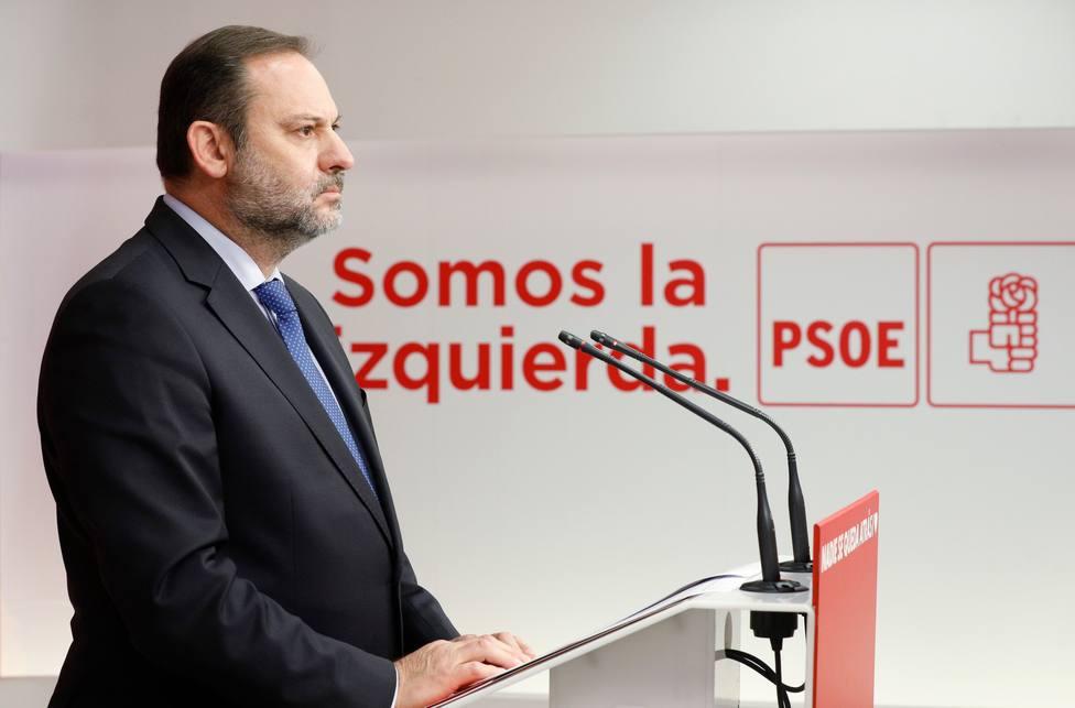 José Luis Ábalos, secretario de Organización del PSOE y ministro de Transportes