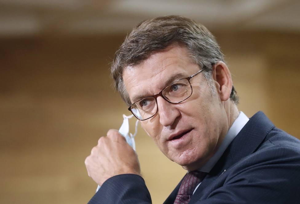 Feijóo exige al Gobierno reglas básicas y transparentes para el reparto de los fondos europeos