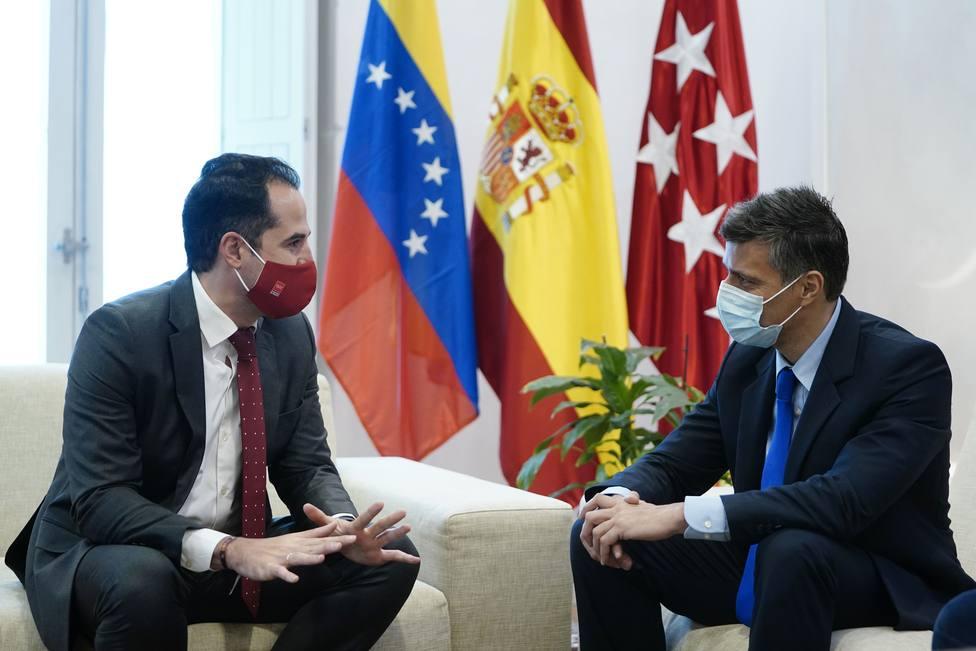 Aguado se reúne con Leopoldo López y alaba su defensa de los derechos humanos y de la libertad