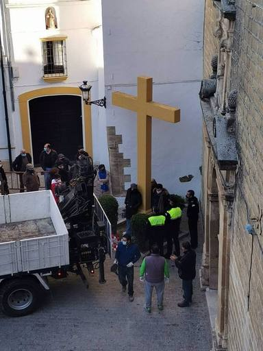 Córdoba.- Abogados Cristianos lleva a la vía penal a la alcaldesa de Aguilar de la Frontera (IU) tras derribar la cruz