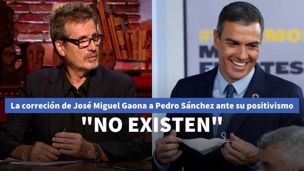 El docto Gaona corrige el positivismo de Sánchez con su clara previsión para 2021: Imprudente afirmación