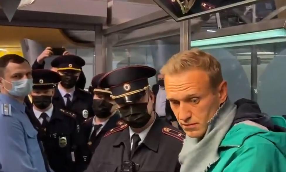 España pide la liberación inmediata del opositor ruso Alexei Navalni