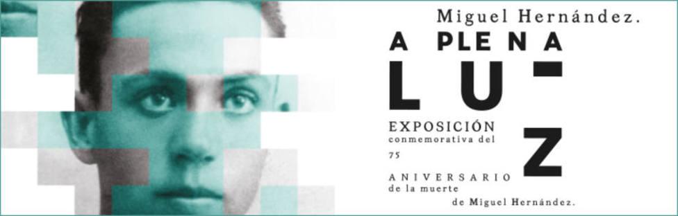 La Diputación de Alicante negociará traer la exposición de Miguel Hernández A plena luz
