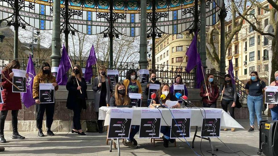 El Gobierno vasco piden que no sean masivas las manifetaciones del 8M en las tres capitales de Euskadi