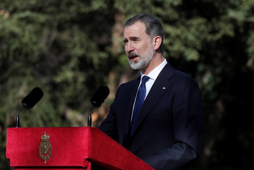 El Rey a las víctimas del terrorismo: Representáis la grandeza y dignidad de la democracia