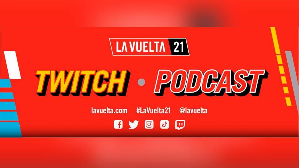 La Vuelta crea su canal de Twitch y un Podcast