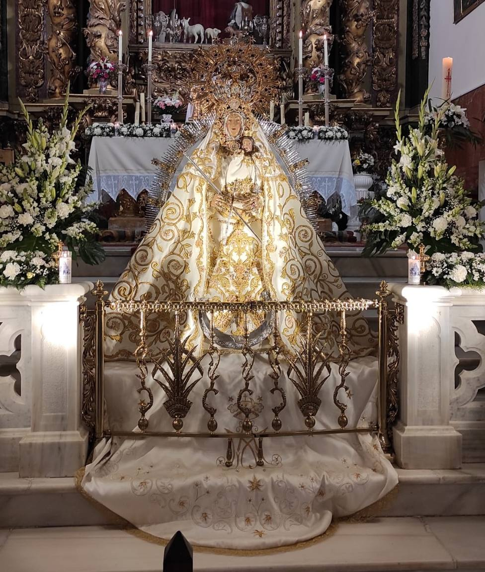 Virgen de Cortes mayo 2021