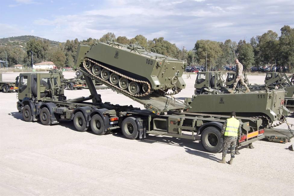 La UCO trabaja en un sistema de inteligencia artificial de mantenimiento de camiones para el Ejército
