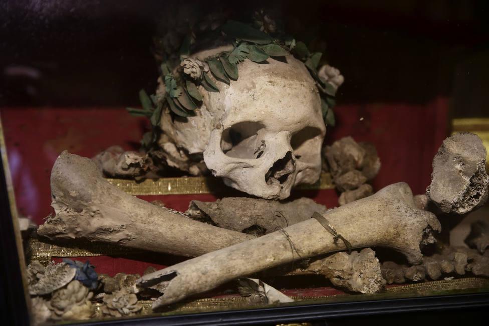 ¿Quién está enterrado en la capilla de las Benditas Ánimas de Purgatorio de la Santa Iglesia Catedral?