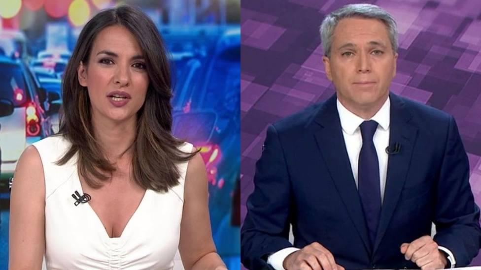 Esther Vaquero y Vicente Vallés