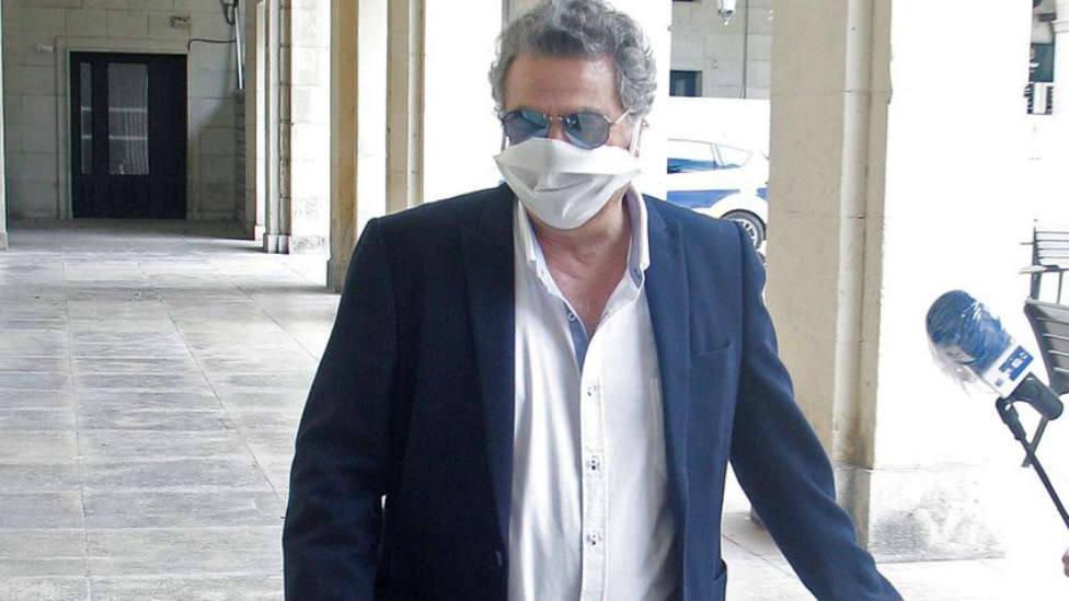 Enrique Ortiz, en una comparecencia judicial reciente (EFE)