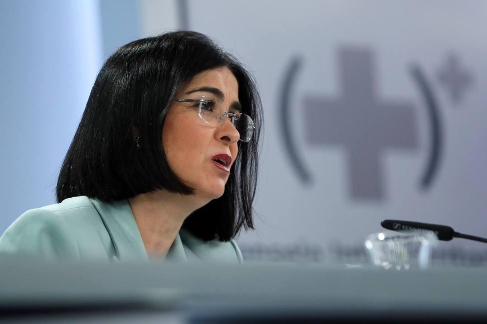 Darias justifica la decisión de vacunar a la selección española: Es tremendamente importante y necesaria