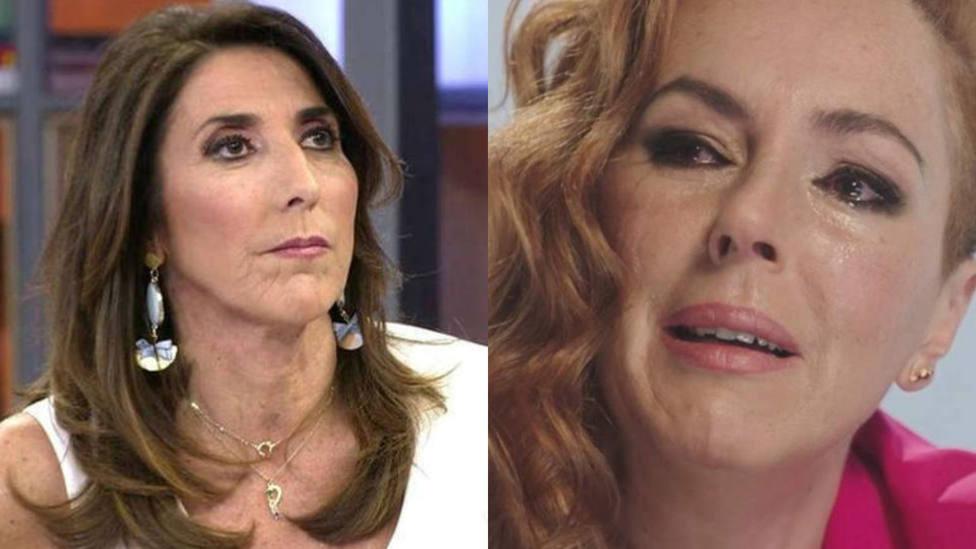 Paz Padilla se salta el guion y manda un recado a Rocío Carrasco: No tiene nada que ver