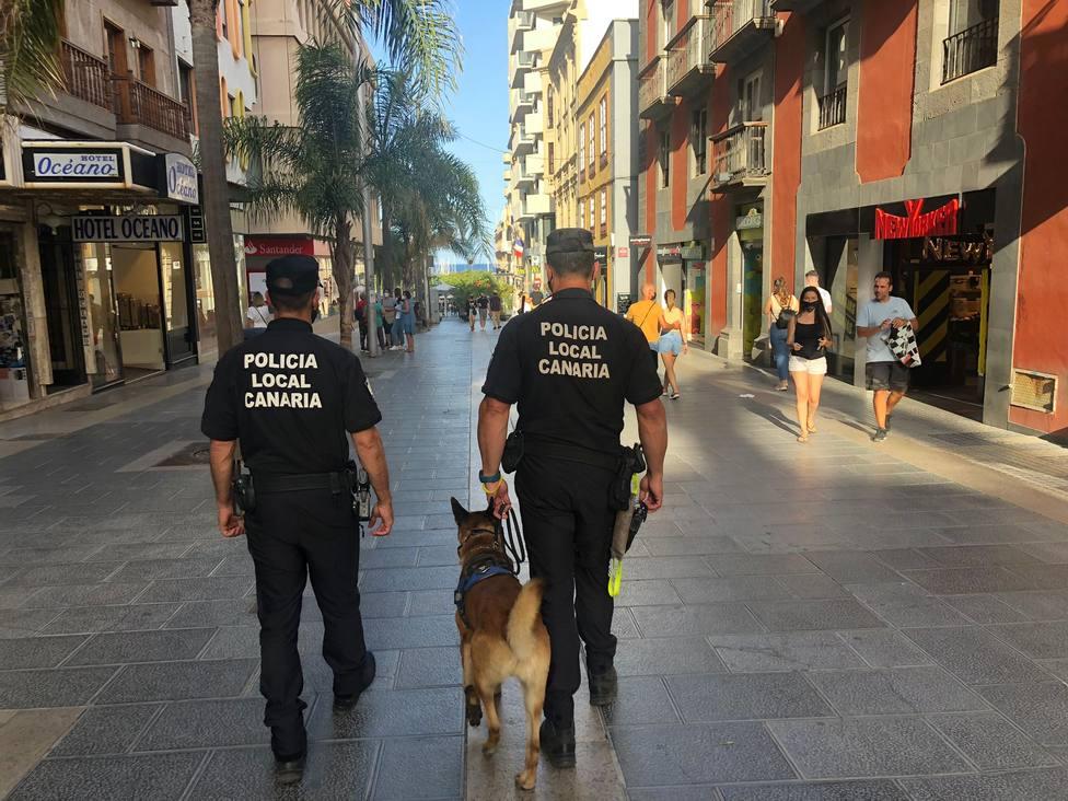 Policía Santa Cruz coronavirus Tenerife