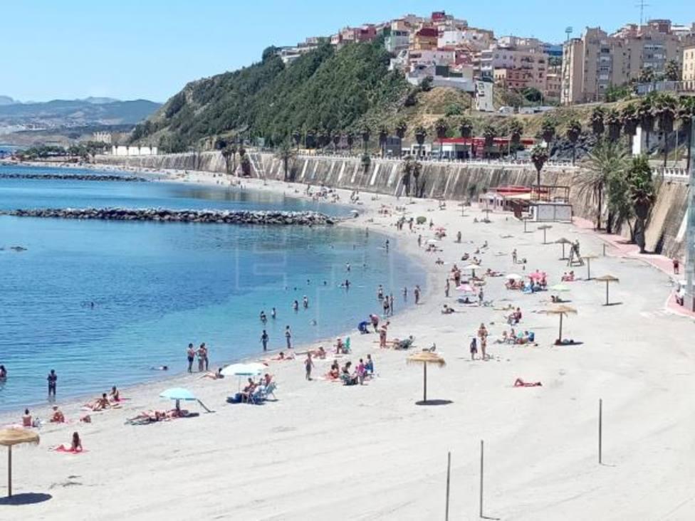 Las playas de Ceuta cerrarán de madrugada y la hostelería estará limitada