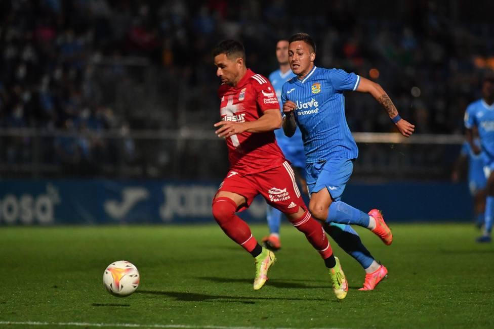 El Cartagena cae en Fuenlabrada 2-1 en un partido con luces y sombras
