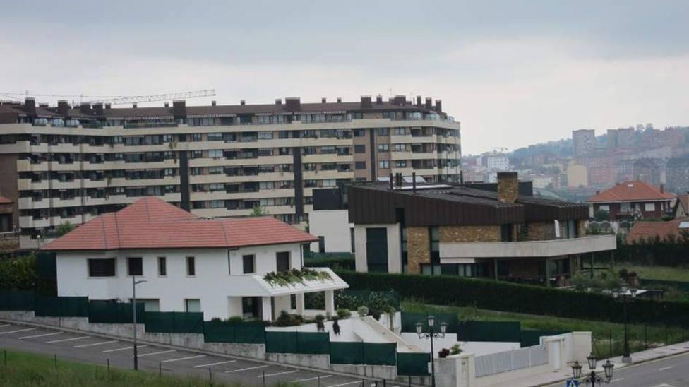 Viviendas de Montecerrao, Oviedo