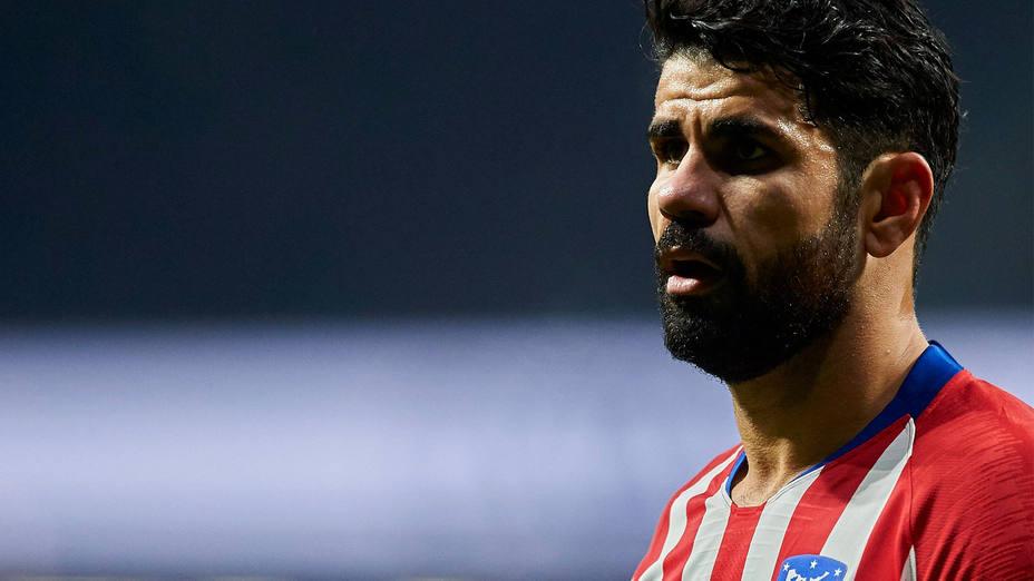 Diego Costa, jugador del Atlético de Madrid. CORDON PRESS