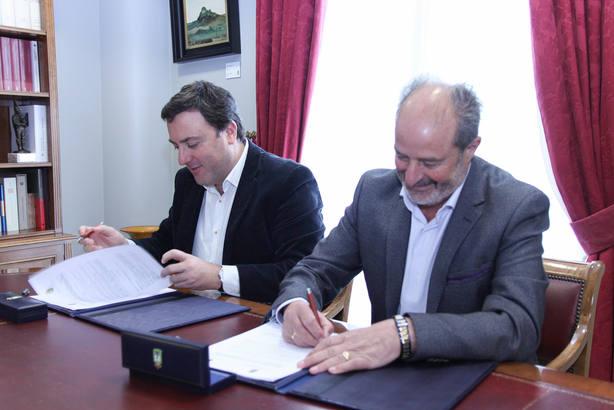 El acuerdo de intenciones se firmó el viernes 8 de febrero en la sede de la Diputación coruñesa